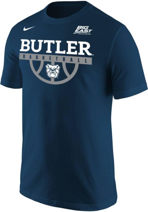 Nike Men's Butler Bulldogs Blue Legend Basketball Sideline T-Shirt product image