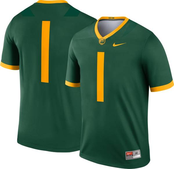 Nike Men's Baylor Bears #1 Green Dri-FIT Legend Football Jersey product image