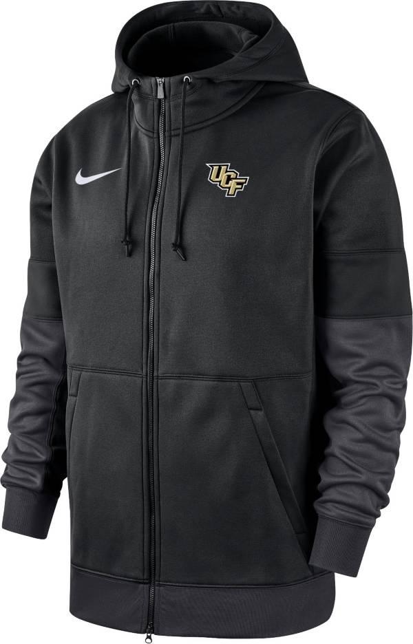Nike Men's UCF Knights Therma-FIT Full-Zip Black Hoodie product image