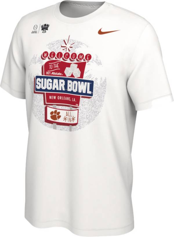 Nike Men's Clemson Tigers 2021 Allstate Sugar Bowl Bound T-Shirt product image