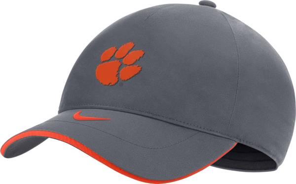 Nike Men's Clemson Tigers Grey Legacy91 Shield Adjustable Hat product image