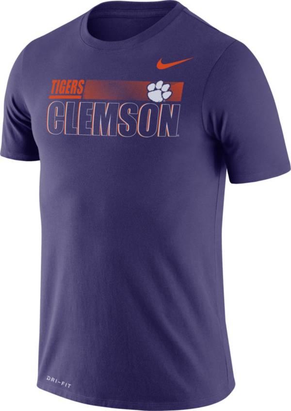 Nike Men's Clemson Tigers Regalia Legend Team Issue Football T-Shirt product image