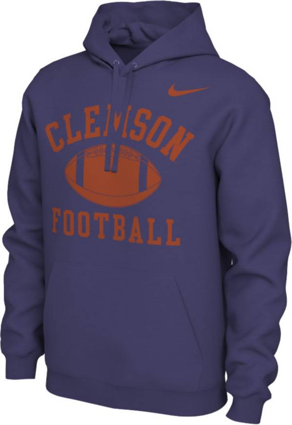 Nike Men's Clemson Tigers Regalia Pullover Football Hoodie product image