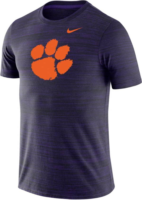 Nike Men's Clemson Tigers Regalia Velocity Performance T-Shirt product image