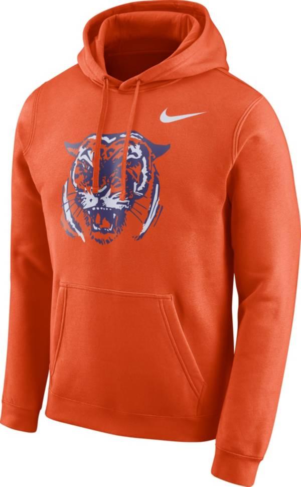 Nike Men's Clemson Tigers Orange Club Vault Pullover Hoodie product image