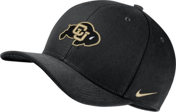 Nike Men's Colorado Buffaloes Classic99 Swoosh Flex Black Hat product image