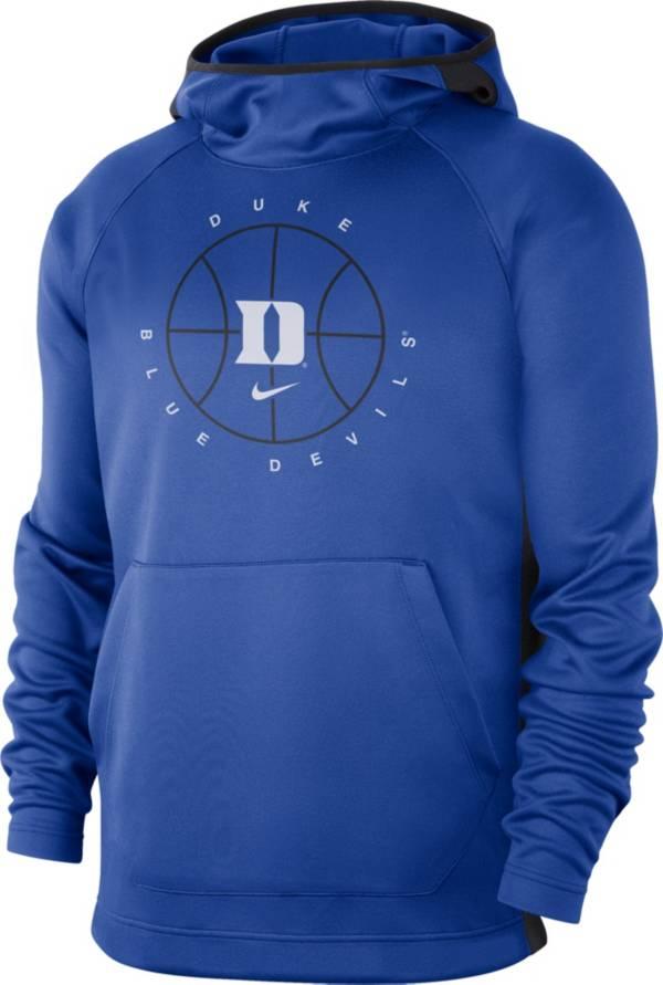Nike Men's Duke Blue Devils Duke Blue Spotlight Basketball Pullover Hoodie product image