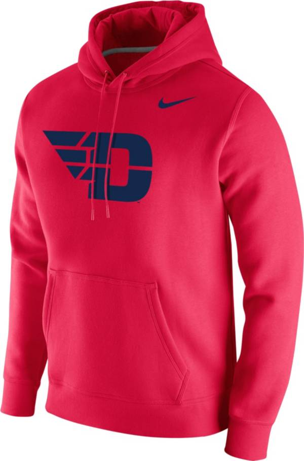 Nike Men's Dayton Flyers Red Club Fleece Pullover Hoodie product image
