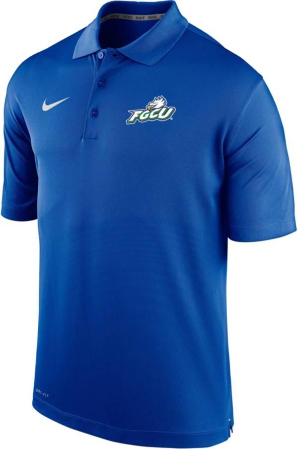 Nike Men's Florida Gulf Coast Eagles Colbalt Blue Varsity Polo product image
