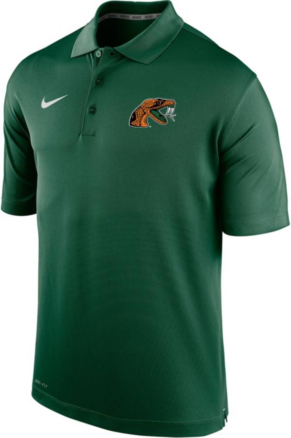 Nike Men's Florida A&M Rattlers Green Varsity Polo product image