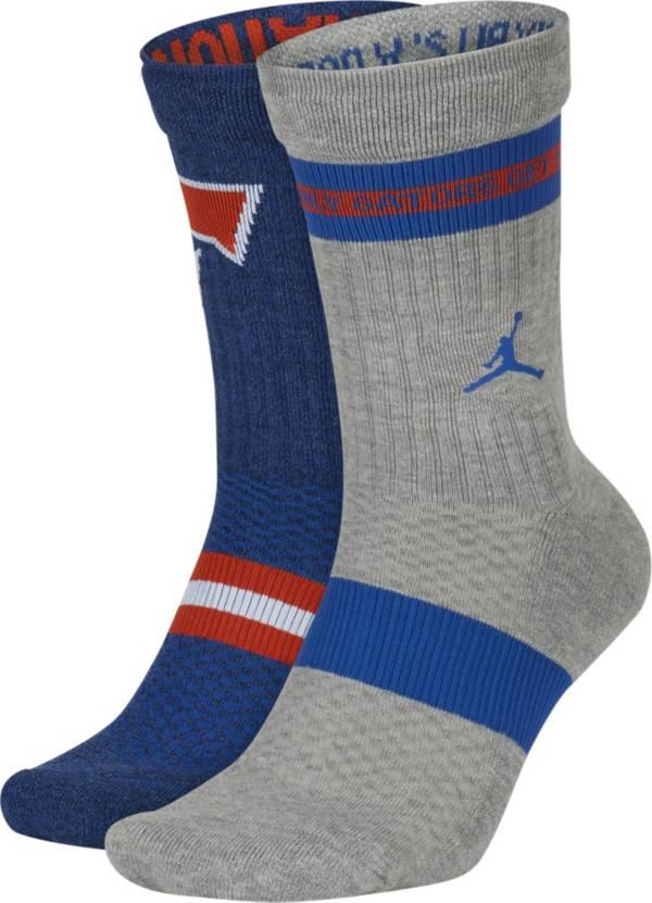 Jordan Florida Gators Multi Crew Socks 2 Pack product image