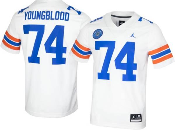 Jordan Men's Jack Youngblood Florida Gators #74 Orange 'Ring Of Honor' Replica Football Jersey product image