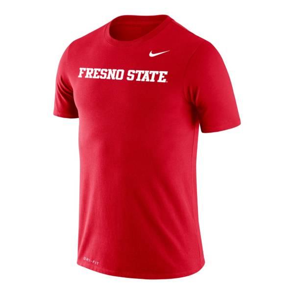 Nike Men's Fresno State Bulldogs Red Legend Logo T-Shirt product image