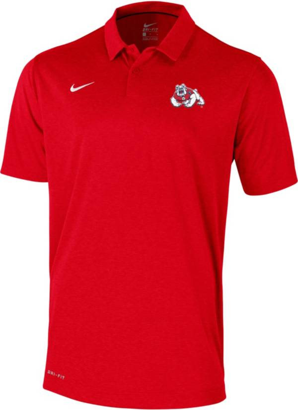 Nike Men's Fresno State Bulldogs Cardinal  Polo product image
