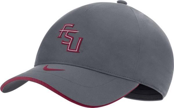 Nike Men's Florida State Seminoles Grey Legacy91 Shield Adjustable Hat product image
