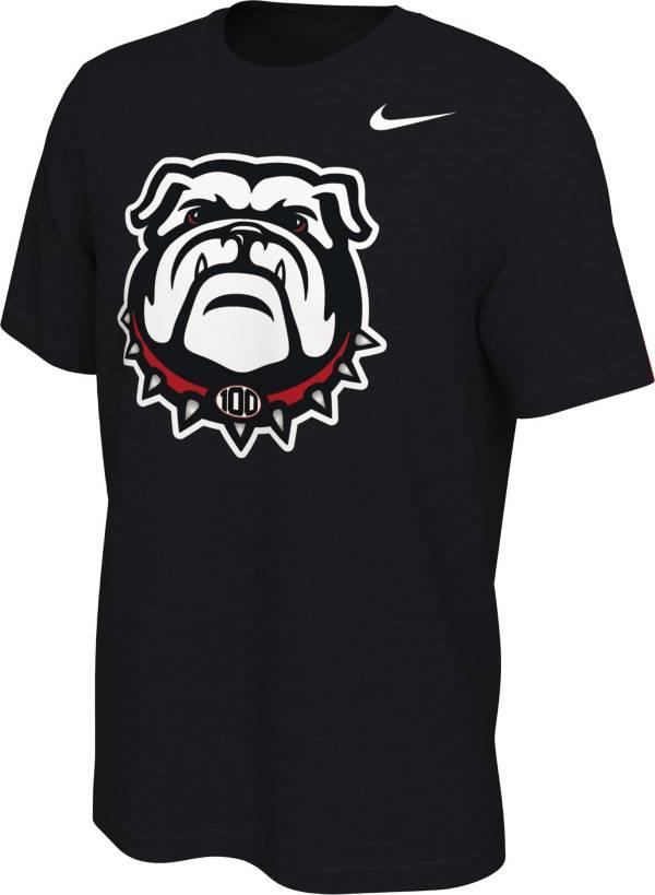 Nike Men's Georgia Bulldogs '100th Anniversary' Black T-Shirt product image