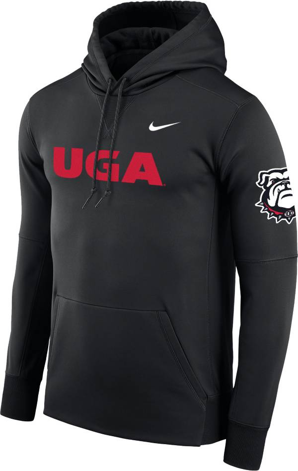 Nike Men's Georgia Bulldogs '100th Anniversary' Pullover Black Hoodie product image