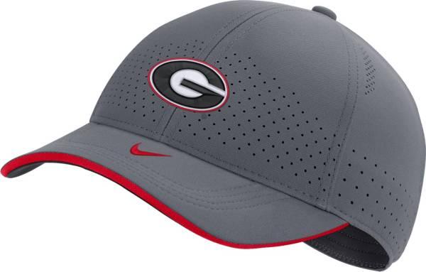 Nike Men's Georgia Bulldogs Grey Low-Pro L91 Adjustable Hat product image
