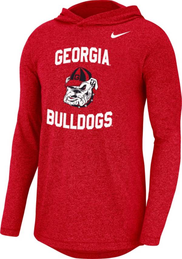 Nike Men's Georgia Bulldogs Red '40th Anniversary' Marled Pullover Hoodie product image