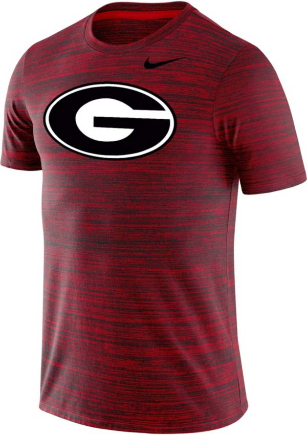 Nike Men's Georgia Bulldogs Red Velocity Performance T-Shirt product image