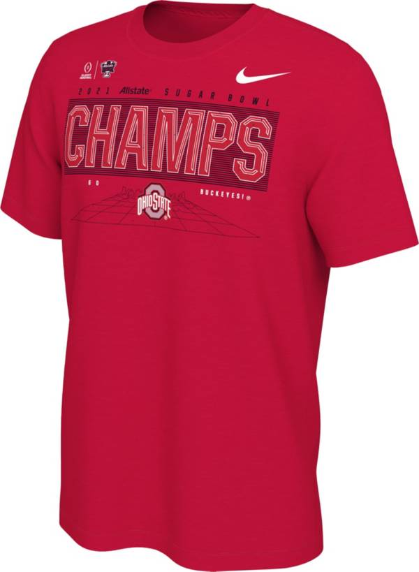 Nike Men's 2021 Allstate Sugar Bowl Champions Ohio State Buckeyes Locker Room T-Shirt product image