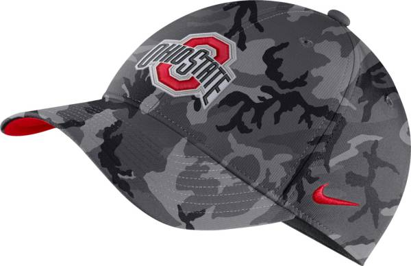 Nike Men's Ohio State Buckeyes Gray Legacy91 Adjustable Hat product image