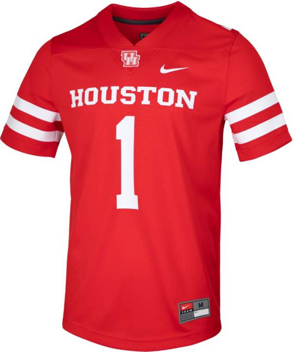 Nike Men's Houston Cougars Red Game Football Jersey product image