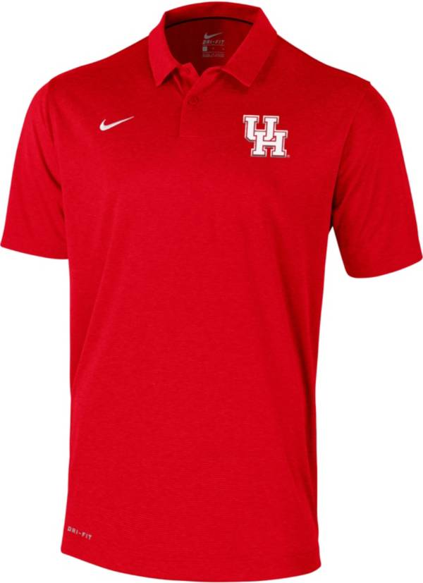 Nike Men's Houston Cougars Red  Polo product image