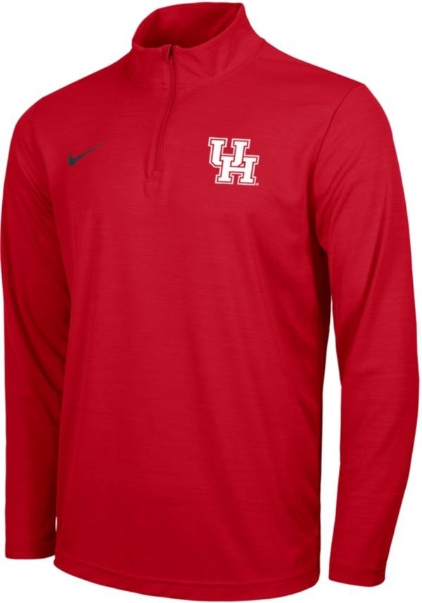 Nike Men's Houston Cougars Red Intensity Quarter-Zip Shirt product image