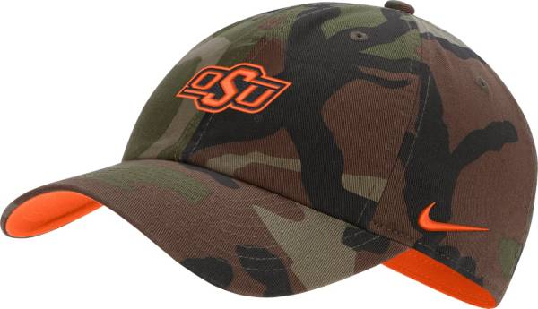 Nike Men's Oklahoma State Cowboys Camo Heritage86 Adjustable Hat product image