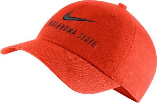 Nike Men's Oklahoma State Cowboys Orange Heritage86 Adjustable Hat product image
