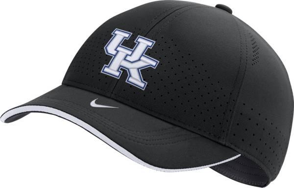 Nike Men's Kentucky Wildcats Low-Pro L91 Adjustable Black Hat product image