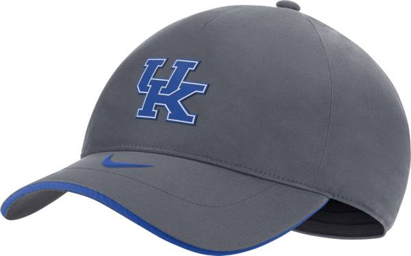Nike Men's Kentucky Wildcats Grey Legacy91 Shield Adjustable Hat product image