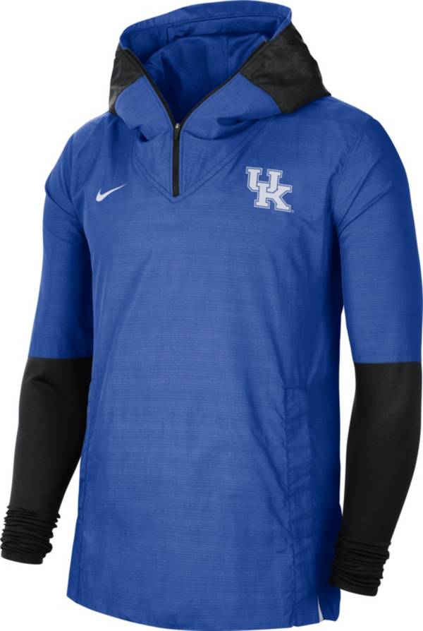 Nike Men's Kentucky Wildcats Blue Lightweight Football Sideline Player's Jacket product image