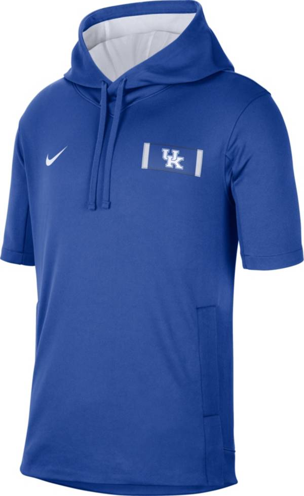 Nike Men's Kentucky Wildcats Blue Showout Short Sleeve Hoodie product image