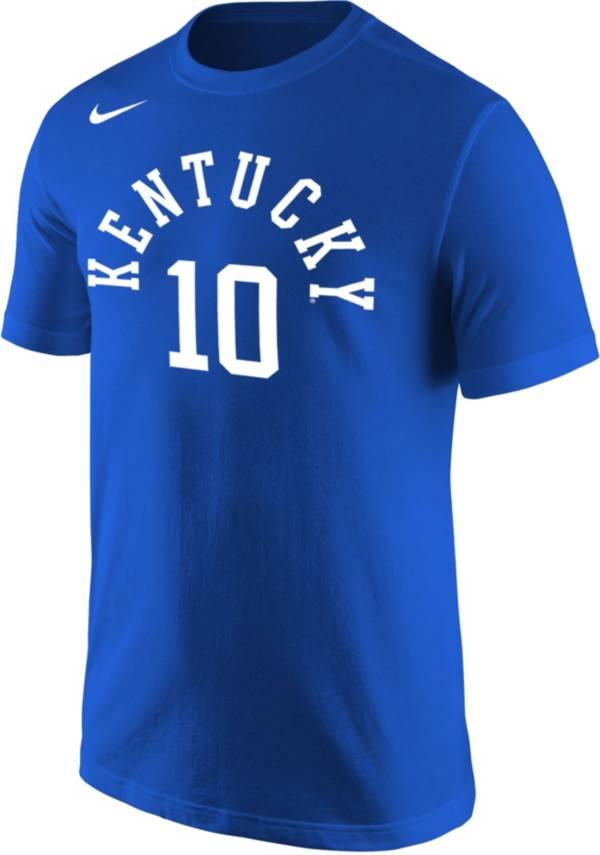 Nike Men's Kentucky Wildcats #10 Blue Jersey T-Shirt product image