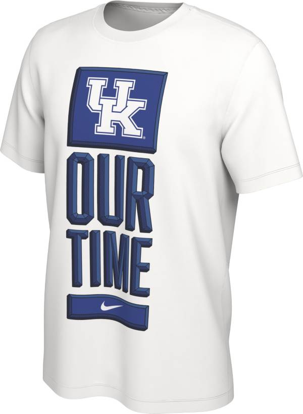 Nike Men's Kentucky Wildcats 'Our Time' Bench White T-Shirt product image