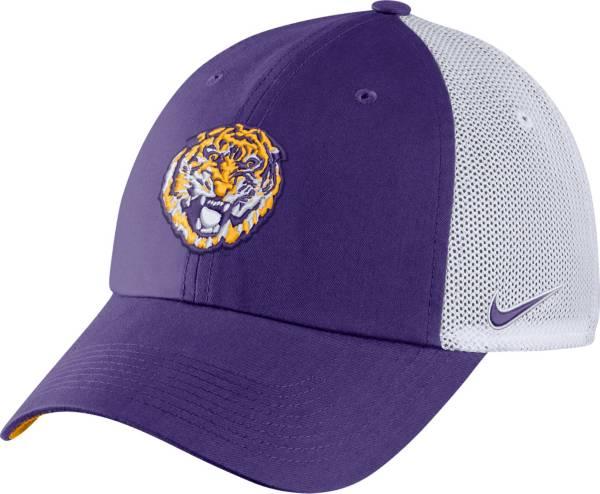 Nike Men's LSU Tigers Purple Heritage86 Logo Hat product image