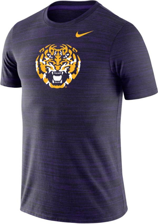 Nike Men's LSU Tigers Purple Velocity Performance T-Shirt product image