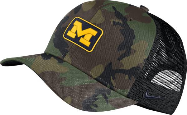 Nike Men's Michigan Wolverines Camo Classic99 Adjustable Hat product image
