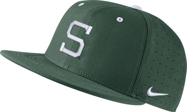 Nike Men's Michigan State Spartans Blue Fitted Baseball Hat product image