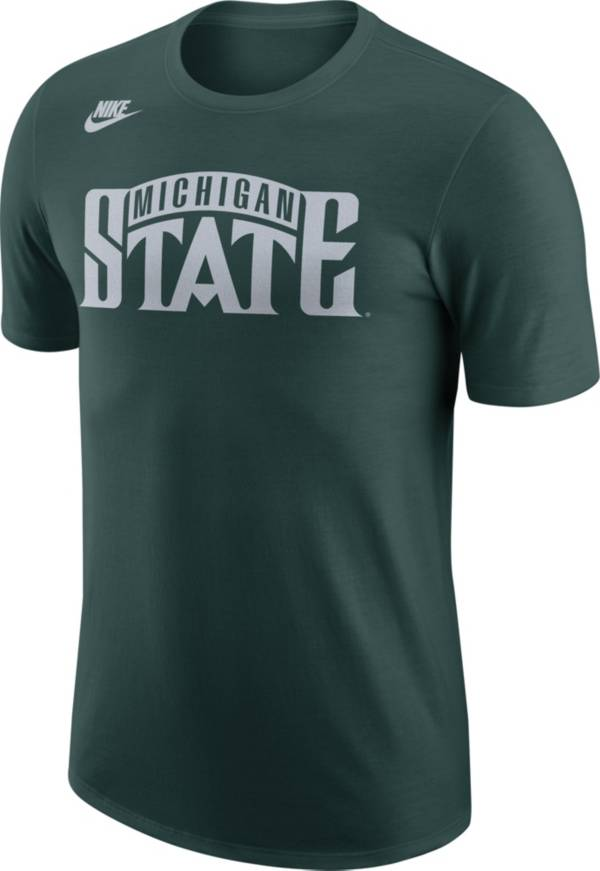 Nike Men's Michigan State Spartans Green Retro T-Shirt product image