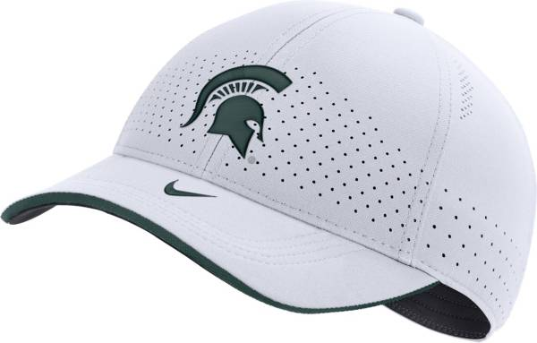 Nike Men's Michigan State Spartans Low-Pro L91 Adjustable White Hat product image