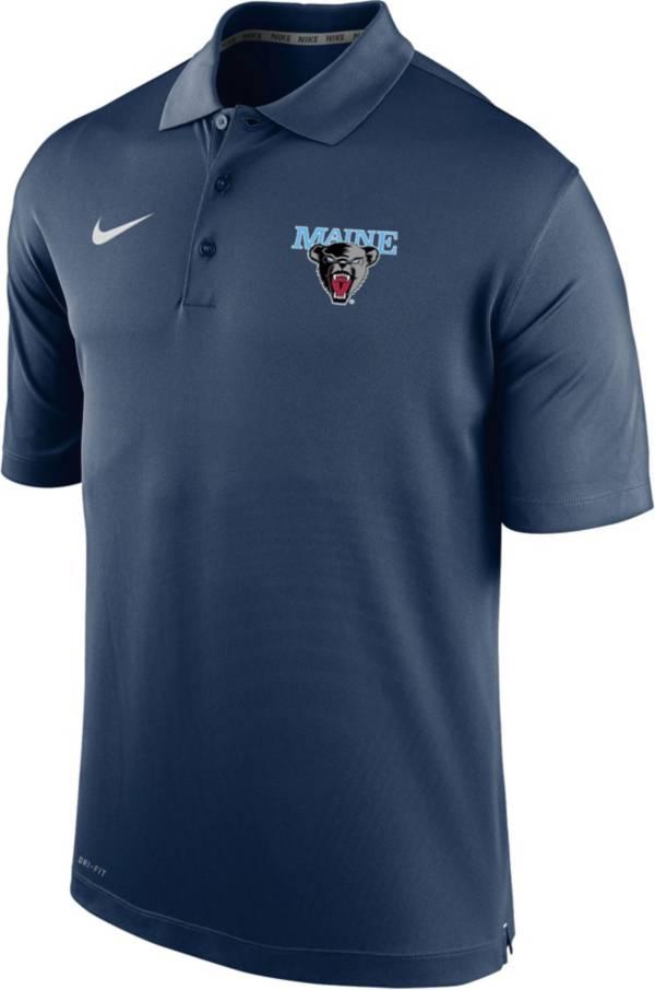 Nike Men's Maine Black Bears Blue Varsity Polo product image
