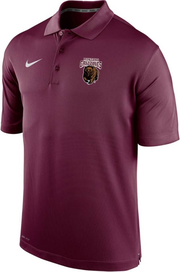 Nike Men's Montana Grizzlies Maroon Varsity Polo product image
