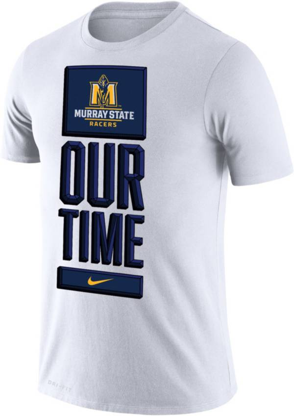 Nike Men's Murray State Racers 'Our Time' Bench White T-Shirt product image