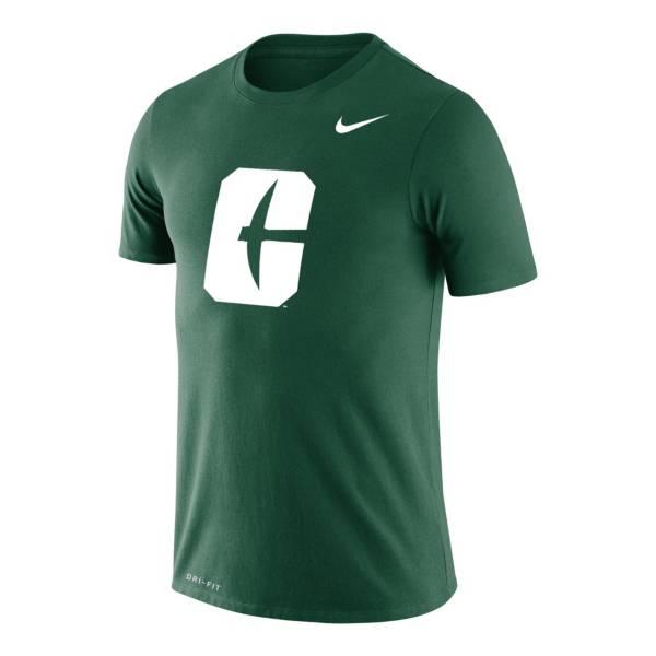 Nike Men's Charlotte 49ers Green Legend Logo T-Shirt product image