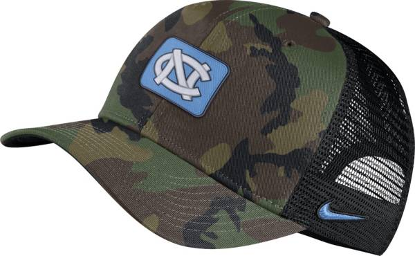 Nike Men's North Carolina Tar Heels Camo Classic99 Adjustable Hat product image