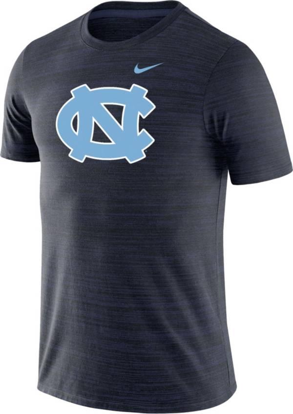 Nike Men's North Carolina Tar Heels Navy Velocity Performance T-Shirt product image