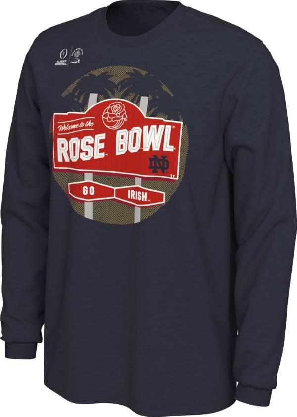 Men's Notre Dame Fighting Irish 2021 Rose Bowl Game Bound Long Sleeve T-Shirt product image